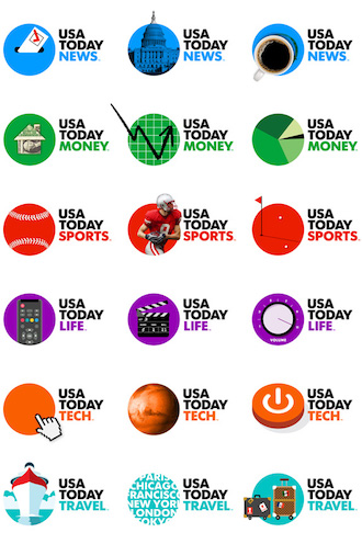 USA Today - Dynamic Logos