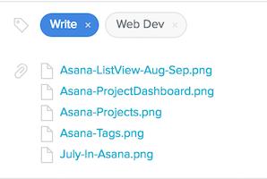 Files in Asana