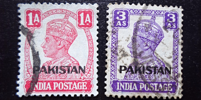 Stamps of India - Nasik Overprints