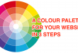 Create a Colour Palette for your Website