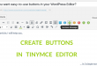 TinyMCE Editor Buttons