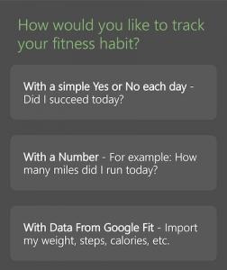 HabitBull - Habit Types