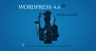 WordPress 4.6 Pepper Released