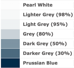 Shades of Grey for www.sonysimon.com