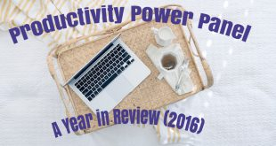 Productivity Power Panel - 2016